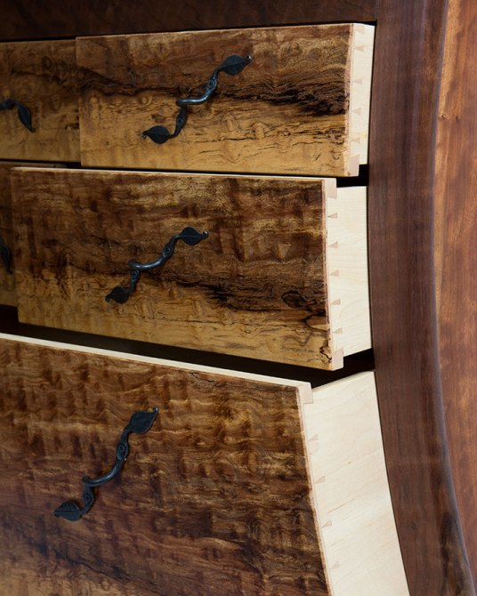 Dovetails on china cabinet drawers
