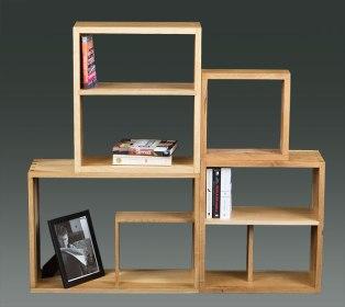 Modular Bookshelf Boxes.